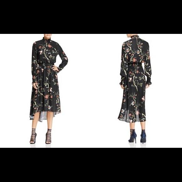 deb8e64c378d2 Nanette Lepore Dresses | Nanette Smocked High Neck Dress | Poshmark